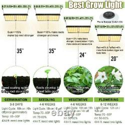 1000W 2000W 4000W LED Grow Light Growing Lamp Full Spectrum for Indoor Plant
