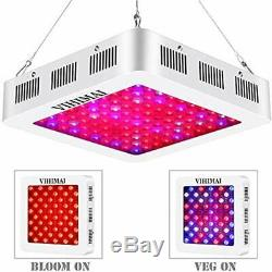 1000W Growing Lamps LED Plant Lights Updated Reflector-Series Full Spectrum, 3 4