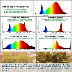 1500W LED Grow Light Full Spectrum For Indoor Plant Flower Hydroponic Lamp IP65