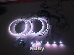 15.5RGB Color Wheel Lights + works with 6Pods Underglow Rock Lights (Bluetooth)
