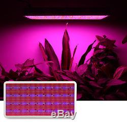 1600W Full Spectrum LED Grow Light Panel Lamp for Hydroponic Plant Growing Bloom