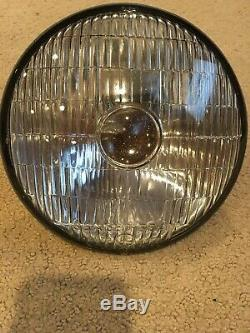1940-1950s Mopar 6 Volt Bullseye Headlight Used, Tested And Works High And Low