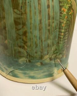 1956 Econolite Litho Motion Lamp Light OLD MILL Waterfall Cottage WORKS