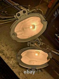 1959 Cadillac Turn Signal Lights Front Pair Tested & Works