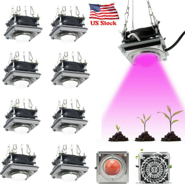 2000w Cob 144led Grow Light Withcooling Fan Growing Lamp Full Spectrum For Plants