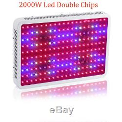 2000W Watt LED Grow Light Panel Full Spectrum Lamp for Vegs Flower Indoor Plant
