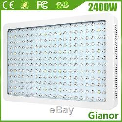 2400W LED Grow Light Kits Full Spectrum Lamp for Plant Vegs Hydro System Growing