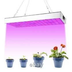 2PCS 2000W LED Grow Light Growing Lamp Full Spectrum for Hydroponic Indoor Plant