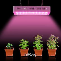 2Pcs Dimmable 300W LED Grow Light Full Spectrum Indoor Plant Lamp US Stock