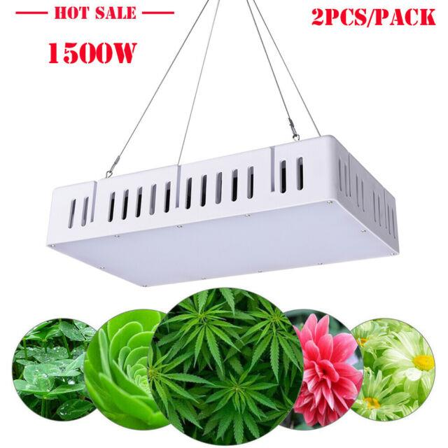 2 X 1500w Diy Led Grow Light For Indoor House Hydroponic Veg Bloom Plant Lamp