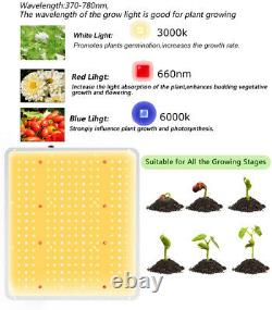3000W Samsung LED Grow Light Plant Growing Lamp Full Spectrum Indoor Hydroponic