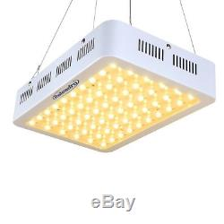 300W LED Plant Grow Light Full Spectrum Indoor Lamp for Plants Vegetables Yellow
