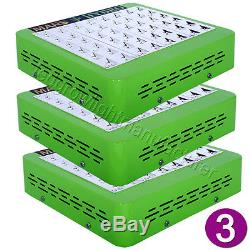 3PCS Mars Hydro Reflector 48 Led Grow Light Growth Bloom Switch Indoor Plant Kit