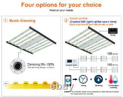 450W Foldable Grow Light Indoor Medical Cultivation Replace Fluence SPYDR Gavita