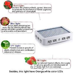 450W LED Plant Grow Light Full Spectrum Lamp Growth Indoor Veg Hydroponic System