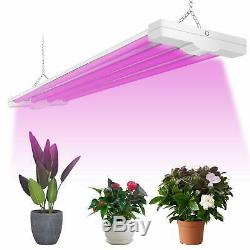 4 Foot LED Grow Lights 80W Full Spectrum Integrated Plant Light Growing Lamps