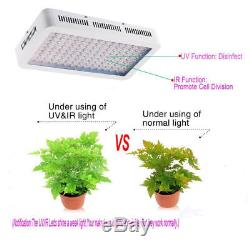 4pcs 1500W LED Grow Light Full Spectrum Growing Lamp Indoor Plant For Greenhouse