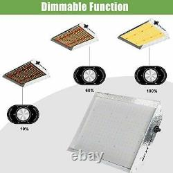 600W Dimmable Plant Led Grow Light Full Spectrum Lamp Indoor Plant Growing Light