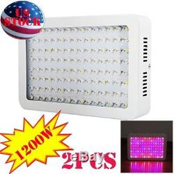 600With1000With1200W Grow Light Plant LED Full Spectrum Indoor Veg Flower Lamp Panel