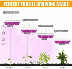 8000W LED Grow Light Full Spectrum Lamp Hydroponic Indoor Plant Flower Growing
