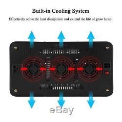 80With1200With1500W LED Grow Light Panel Lamp for Hydroponic Plant Veg Full Spectrum