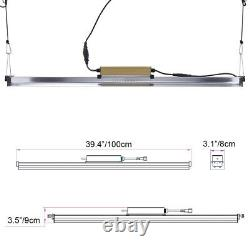 9000W LED Grow Lights Full Spectrum Grow Strip Lamp with IR & UV for Indoor Plant