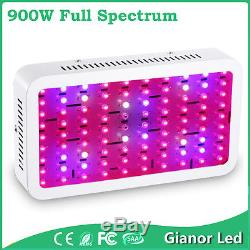 900W Plus LED Plant Grow Light Lamp for Hydro System Tent Growth Full Spectrum
