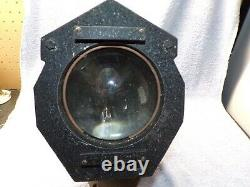 Awesome Antique Theater Stage Spotlight Light lamp Still Works All Original