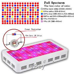 BOSSLED 1500W 1800W LED Grow Light Lamp Panel Full Spectrum For Hydroponic Plant