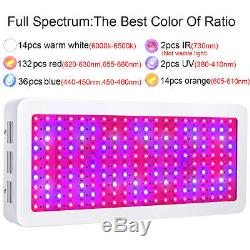 BOSSLED 2000W LED Grow Light Full Spectrum For Indoor Plant growth bloom Lamp