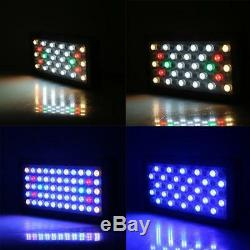 Dimmable 165W LED Aquarium Grow Light For Fish Tank Reef Coral Plant Marine Lamp