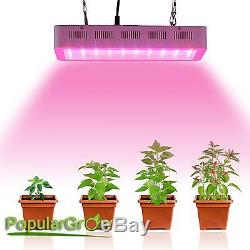 Dimmable 300W Full Spectrum LED Grow Light Indoor Greenhouse Plants Hydro Lamp