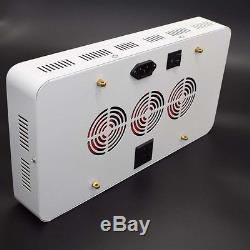 Double Chips 1200W LED Grow Light 380-730nm Full Spectrum LED Plant Grow Lamps