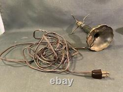 Genuine Antique Pairpoint Puffy Boudoir Lamp Vintage Mini Puffy Light Works
