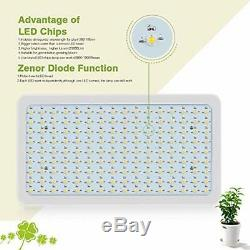 Growing Lamps 1500W LED Light Full Spectrum 380nm-780nm Plant 3500k Natural For