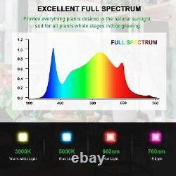 IPower LED Grow Light Dimmable Full Spectrum Plant Lamp for Indoor Hydroponic