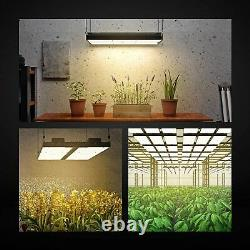 Led Grow Light GF2400 Full Spectrum Daisy Chain Growing Lamps for Indoor Plants