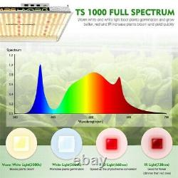 Mars Hydro TS 1000W Led Grow Light Dimmable Full Spectrum Lamp for Indoor Plants