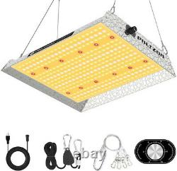 Phlizon 1500W Dimmable Plant LED Grow Light Lamp Full Spectrum for Indoor Plants