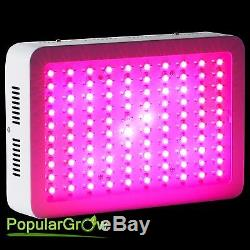 PopularGrow 4PC 300W LED Grow Light Kits Full Spectrum Indoor Plant Hydroponics