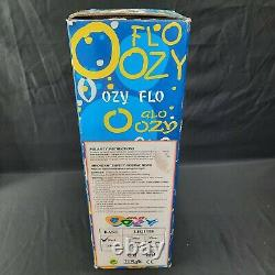 Rare Vtg Oozy Glo Lamp 15 Motion Glitter Lava With Box Flo Light Works Great