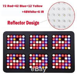 Reflector 900W LED Grow Light Full Spectrum Plant Grow Lamps for Indoor Plants