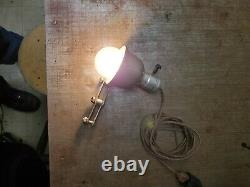 Retirement light delta rockwell milwaukee work lamp tool as found Works