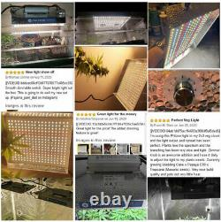 SMD LED Grow Light Dimmable Waterproof Full Spectrum Grow Lamps Indoor Plants