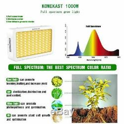 Sunlike 1000W LED Grow Light Full Spectrum Lamp For Indoor Hydroponic Plant Seed
