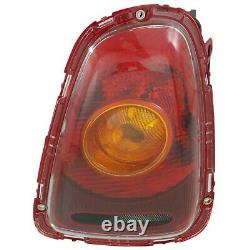Tail Light For 2007-2010 Mini Cooper Set of 2 LH and RH Amber Lens