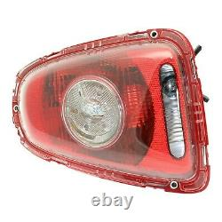 Tail Light For 2007-2010 Mini Cooper Set of 2 LH and RH Clear Lens