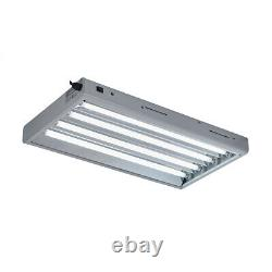 TopoGrow T5 Fluorescent Grow Light Fixture Lamp Withbulbs for Plant Germination