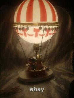 VINTAGE 1970s DOLL TOY CO HOT AIR BALLOON LAMP NIGHT LIGHT TESTED & WORKS