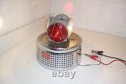 Vintage 1950's 1960's Fire Truck Ambulance Federal Pa Light Beacon Cj 184 Works